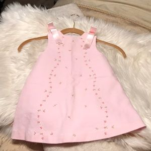 BNWOT Luli & Me Light Pink Girl Outfit 18 Months!